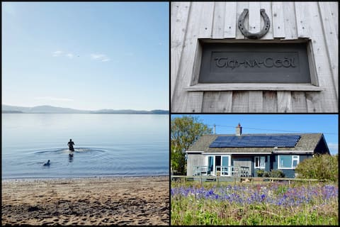 Beachfront cottage on the Isle Of Bute