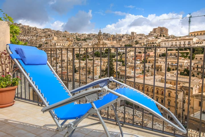NEST ON BAROQUE, terraces and views - Modica - Appartement