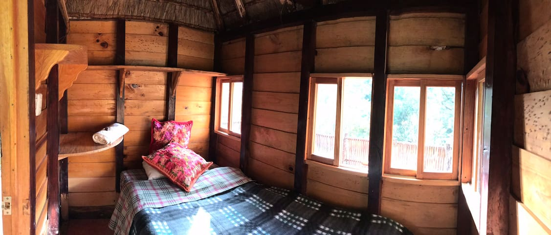 Casa Maitri - one person ecological cabin