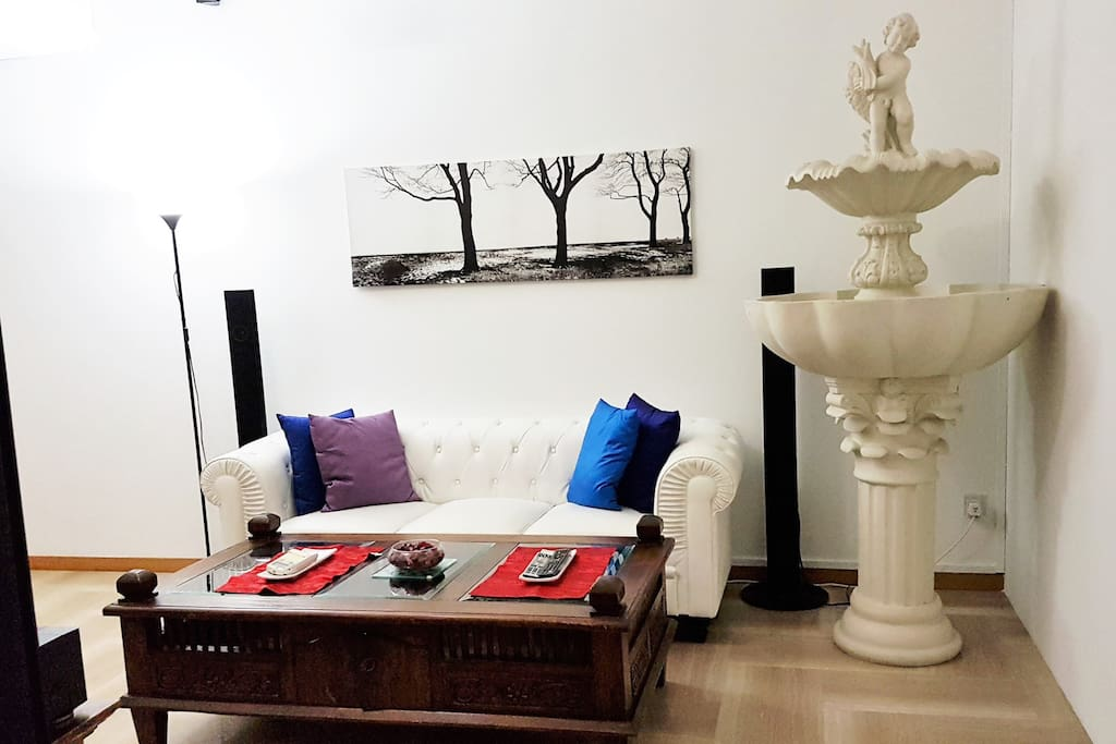 Well Furnished Cozy Aircon Living Area (2)