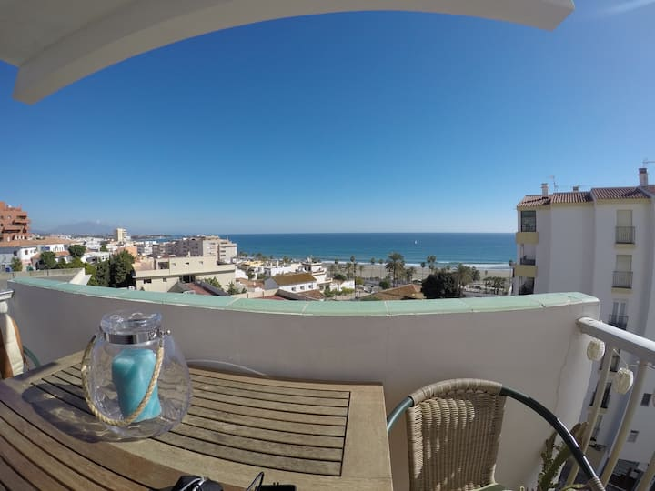 Large three bedroom apartment  panoramic sea views
