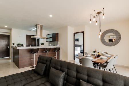 ⭐️ Departamento Moderno! 2 Camas King ⭐️+Sofa Cama