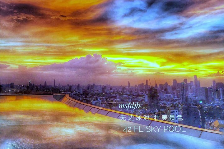 Enjoy Top 3 Sky Pool in BANGKOK