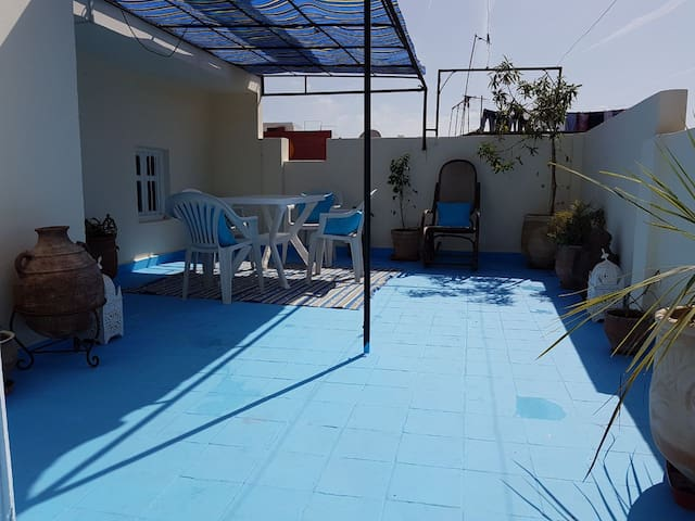Large central duplex apartment Asilah - Asilah - Appartement