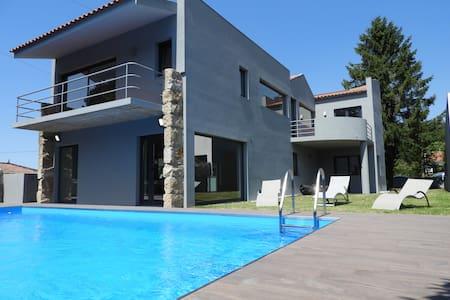 Afife Nastassja Villa-Mountain, Sea & Private Pool