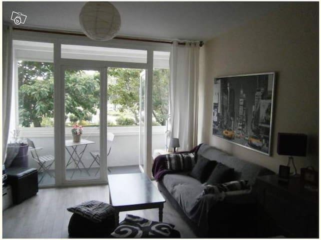 Chambre privée Ile de Nantes - Nantes - Leilighet