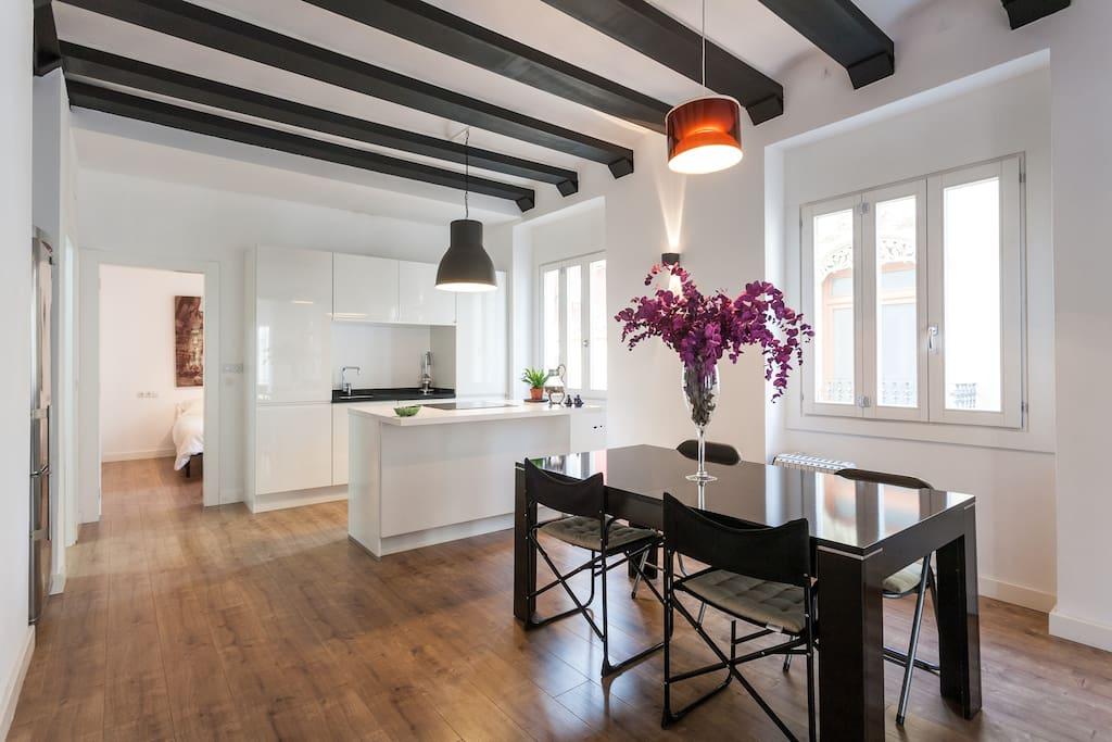Apartamento tipo loft muy c ntrico wohnungen zur miete - Apartamento tipo loft ...