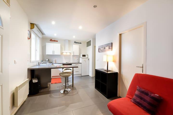 Beau T2 refait à neuf Gare st Jean - Bordeaux - Apartamento