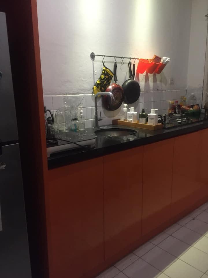Artist studio in bintaro