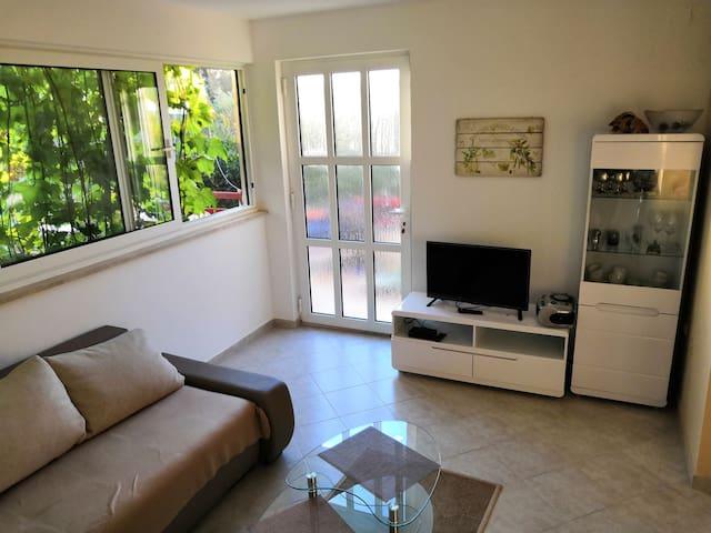 One bedroom Apartment, beachfront in Drvenik Mali - island Drvenik Mali, Terrace
