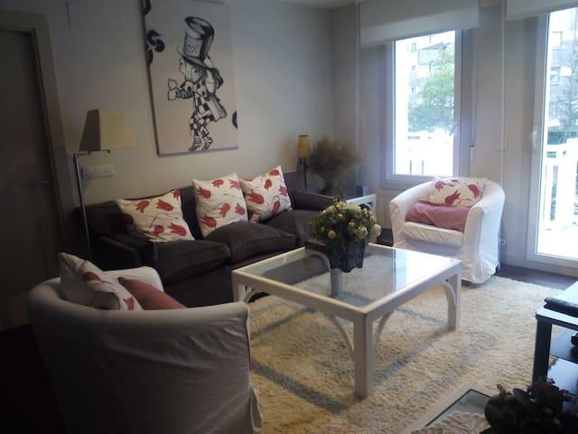 Apartamento con terraza en Neguri - Getxo - Wohnung