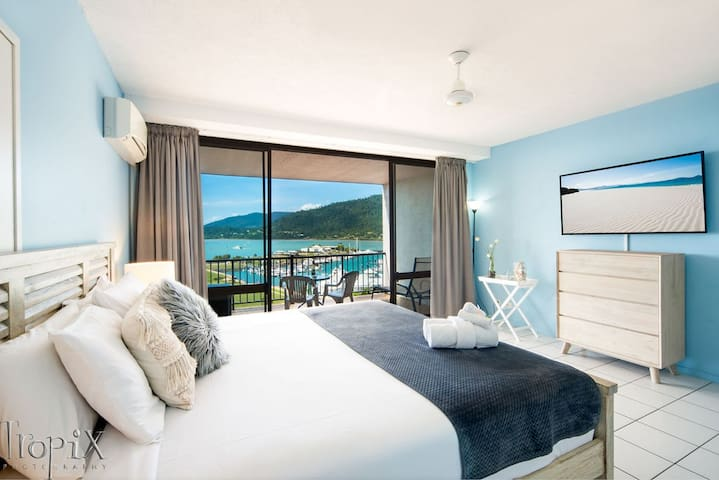 ❤️ OCEAN VIEW 49A ★NETFLIX★WIFI★ POOLS ★KING BED❤️