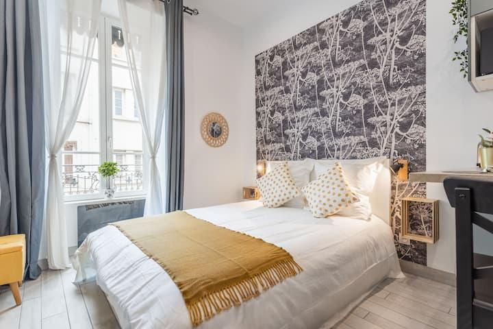 Studio HOME SWEET VAISE : idéal pour visiter Lyon