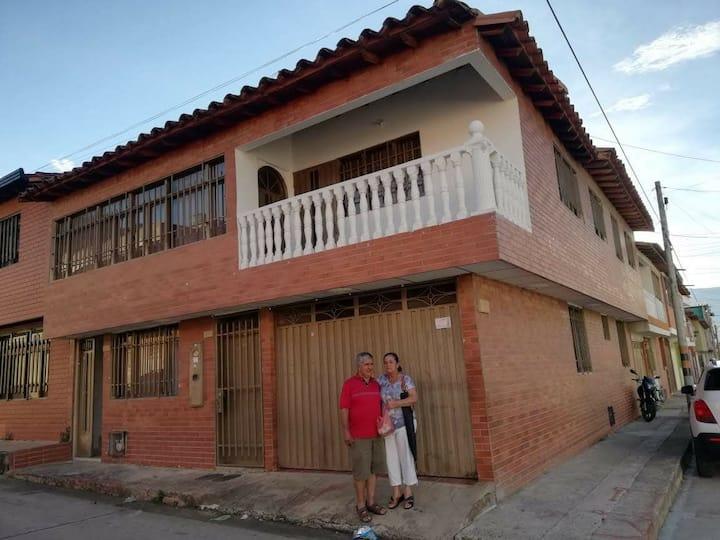 Linda Casa ubicada en San Gil, Santander.