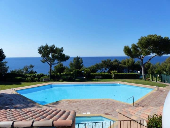 ☀ Vacances vue mer ☀ Wifi,Jardin,Piscine,Tennis,