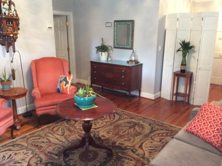 Front/Entry Room Shared by Both Units