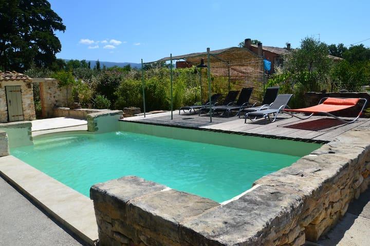 les jardins du moulin gîte avec piscine - Crillon-le-Brave - Apartment