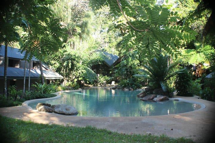 Luxury Rainforest Garden Loft