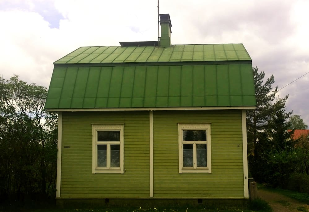 The Little Green House.