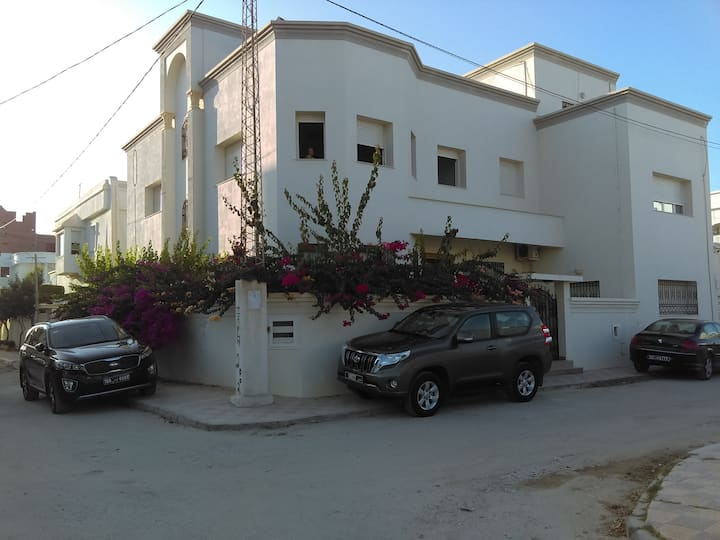 Deux appartements les jasmins korba