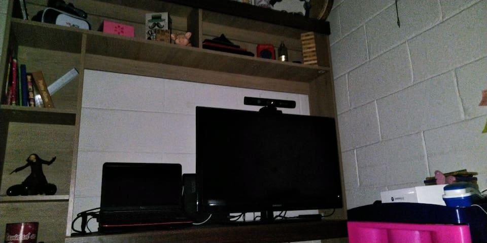 Zona para relajarse ver TV o películas