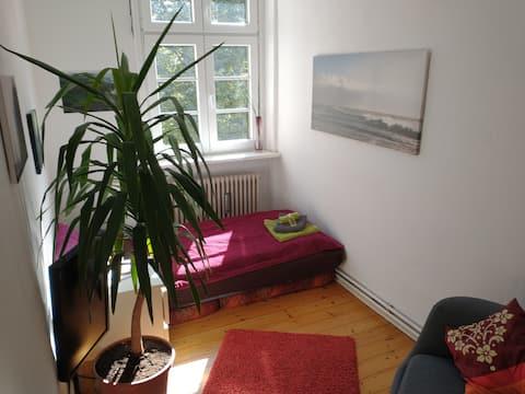 柏林Südkreuz附近安靜的房間