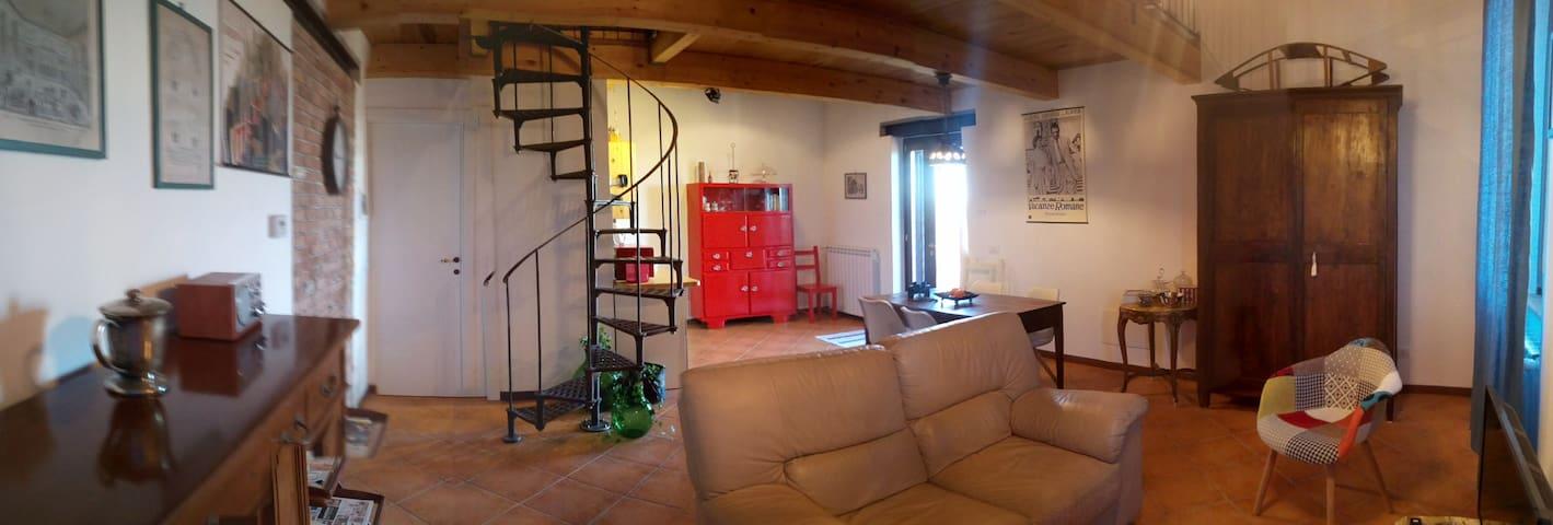 ANTICO CASALE - a loft with a view