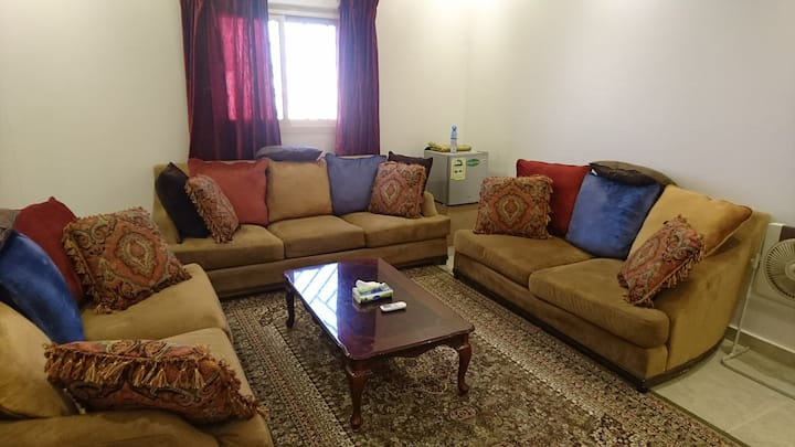 Private room in family apartment