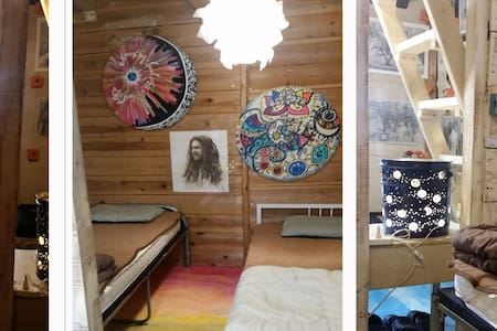 [Art&Sea アート&シー No1]海まですぐアーティスティック個室セルフリゾート・ゲストルーム - Chatan-chō - Pis