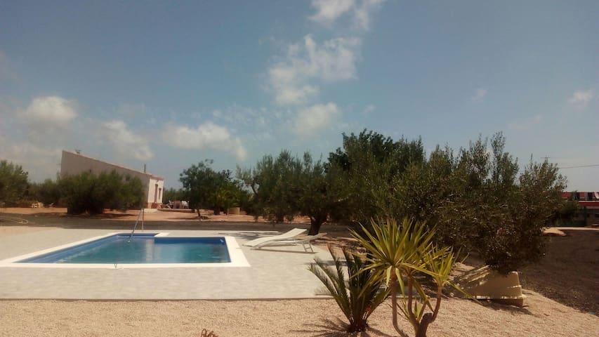 Casa Campo con piscina - L'Ampolla - Talo