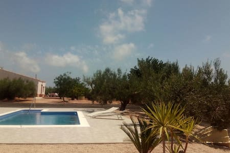 Casa Campo con piscina - L'Ampolla - Dům