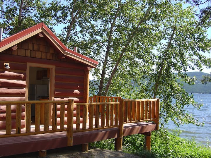 Waterfront Cabin on Lake Mary Ronan