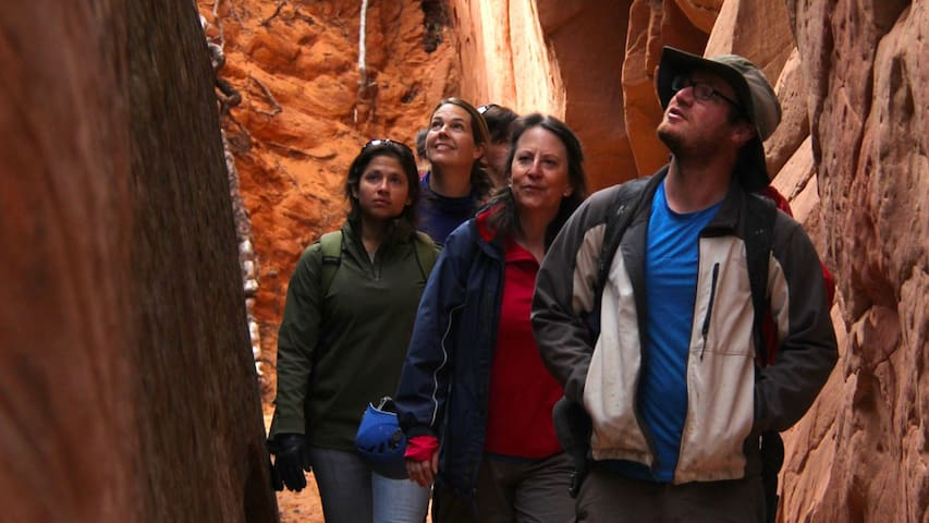 Guided hiked in Zion by Easy Zion Adventures.