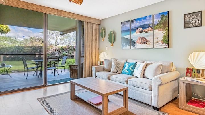 Upgraded 1/2B Condo in Kihei Within Steps of Beach