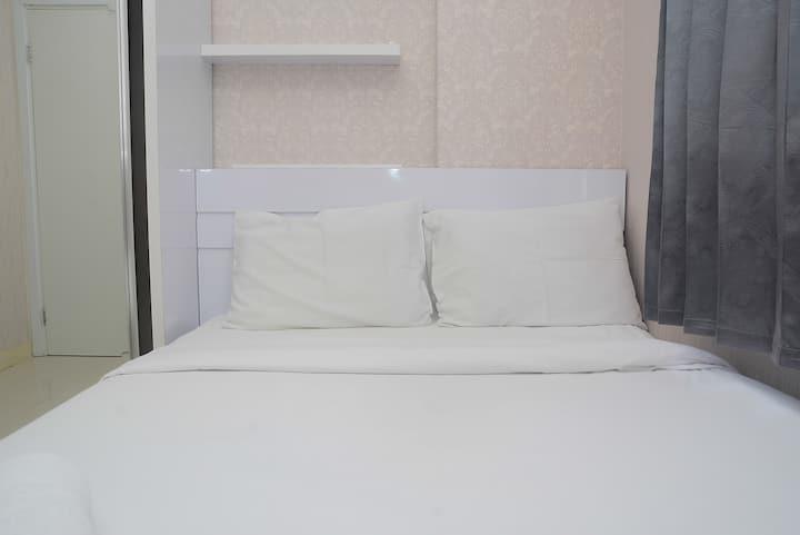 Comfortable and Clean 2BR Green Pramuka Apartment