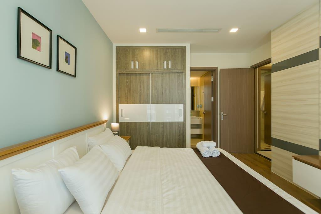 Master bedroom space