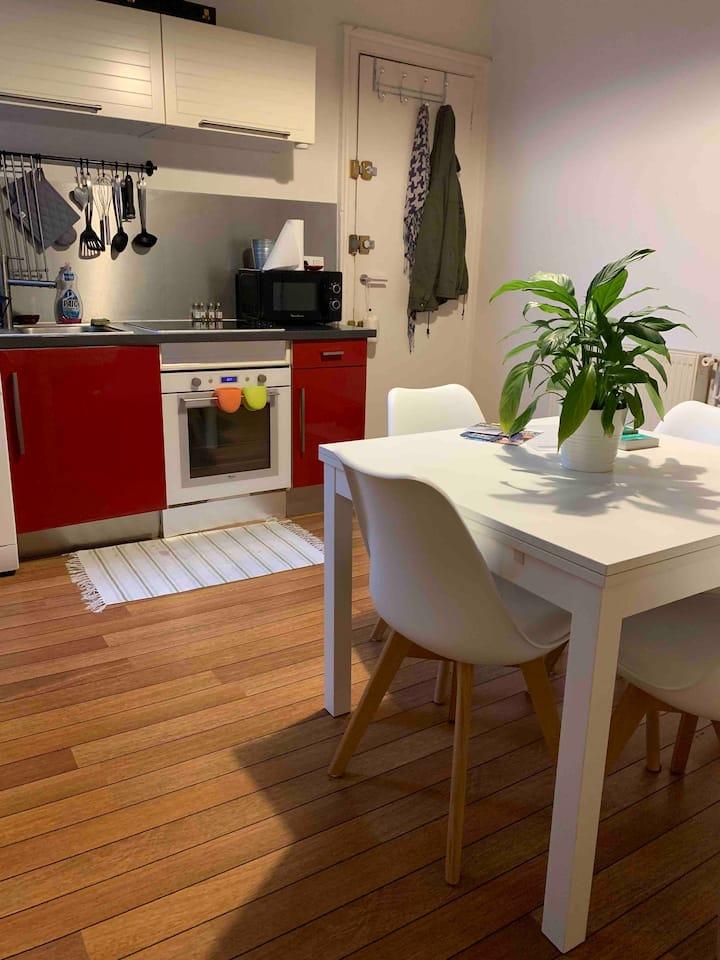 Appartement T2 cosy proche cité du vin Bordeaux