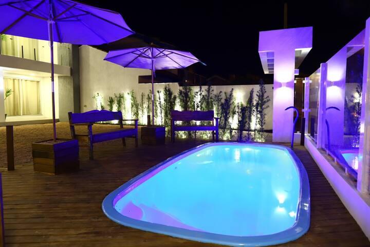 04 Apto/lofts 1OOmts Plataforma/Praia/Mar