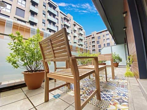 Apartamento en el Centro con Terraza