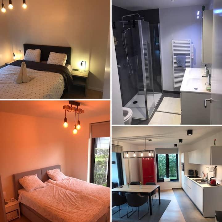 Modern appartement uit de drukte te Duinenwater
