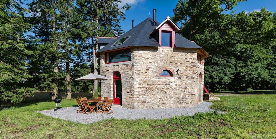 Domaine de Villeneuve - Séchoir - Pleucadeuc - Rumah