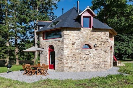 Domaine de Villeneuve - Séchoir - Pleucadeuc - Dom