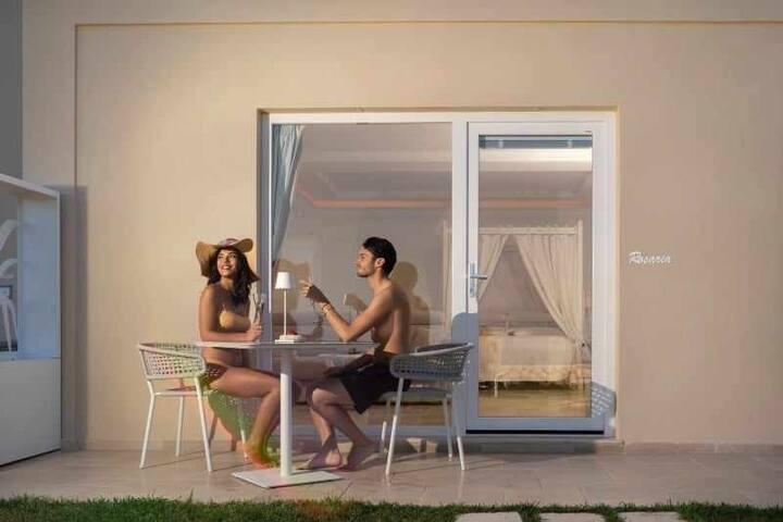 Villa DAlessandro Rosaria private apartmen & hot jacuzzi