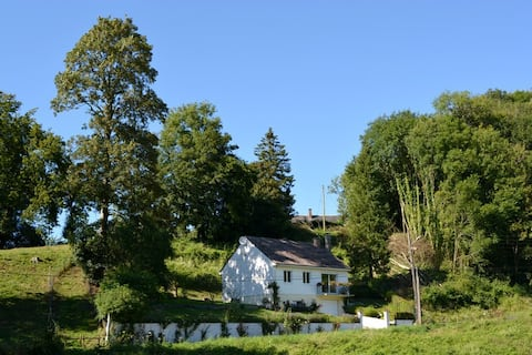 house in the Upper Normandy countryside