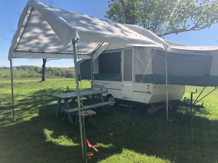 The Easy Breezy Camper at the Heron!