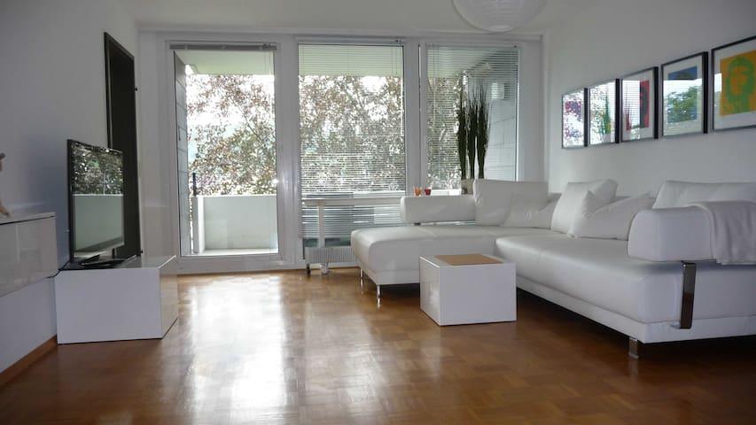 Schicke Wohnung, tolle Aussicht - Flein - Leilighet