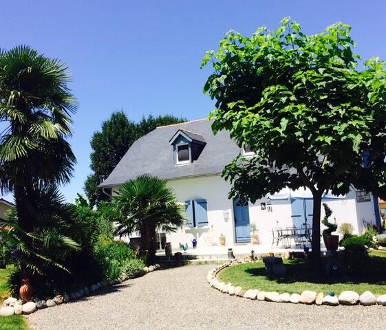 Maison familiale dans les Pyrénées