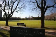 Park around the block