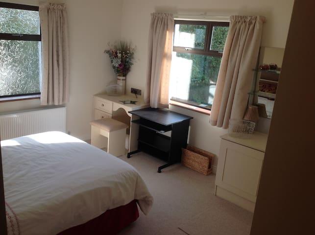 Country house near Cork city - spacious bedroom