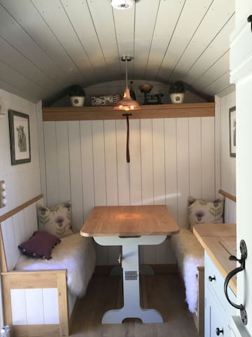 The Shepherd Hut, Ford. Cheltenham